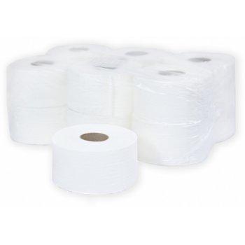 Туалетная бумага в рулоне, 1-слойная