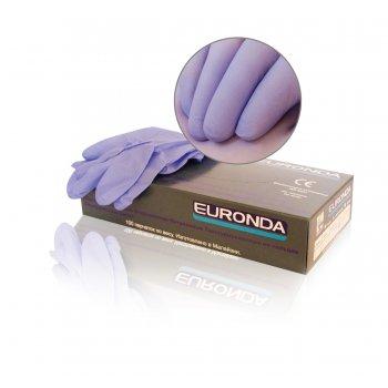Перчатки нитриловые неопудренные, Euronda
