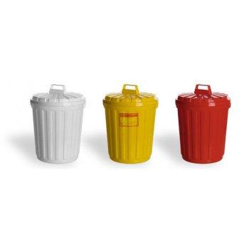 Бак для сбора отходов с крышкой класса В