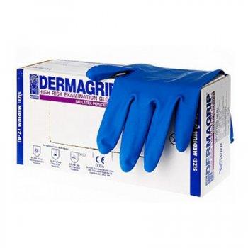 Перчатки латексные DERMAGRIP® High Risk